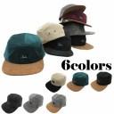 キャップ コーデュロイ スエード 合皮 ベルト 野球帽 メンズ レディース cap 5650