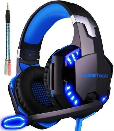 ゲーミング ヘッドセット ヘッドホン ヘッドフォンARKARTECH G2000 ゲームヘッドセット マイク付き ゲーム用 PC パソコン スカイプ fps 対応 男女兼用 プレゼント G2000