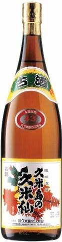 [沖縄県 久米島の久米仙] 43° 泡盛 1800ml×1本 瓶