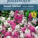 【輸入種子】Johnsons Seeds Sweet Rocket Mixed - Hesperis スイート・ロケット(ハナダイコン)・ミックス・ヘスペリス ジョンソンズシード
