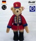 シュタイフ テディベア Steiff ナッツクラッカー テディベア(くるみ割り人形) 30cm ean006869 Nutcracker Teddy bear 世界限定