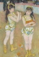 CUT-300-066 ルノワール サーカスの二人の姉妹 300ピース パズル Puzzle ギフト 誕生日 プレゼント 誕生日プレゼント