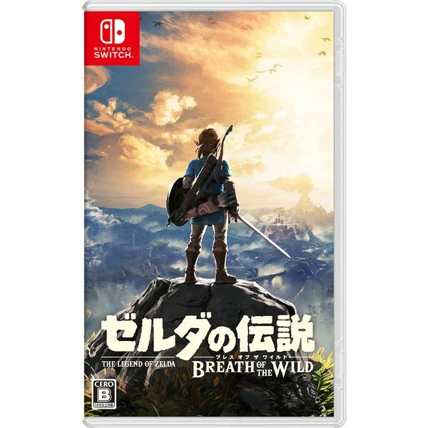 【Nintendo Switch】ゼルダの伝説 ブレス オブ ザ ワイルド(通常版) 【税込】 任天堂 [HAC-P-AAAAA NSWゼルダブレスオブ]【返品種別B】【送料無料】【RCP】