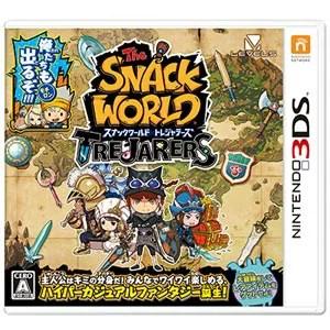 【封入特典付】【3DS】スナックワールド トレジャラーズ 【税込】 レベルファイブ [CTR-P-BWSJ 3DSスナックワールド]【返品種別B】【RCP】