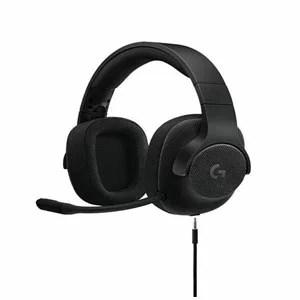 ロジクール G433 7.1有線サラウンド ゲーミングヘッドセット(ブラック) ロジクール [G433BK ユウセンGヘッドセット クロ]