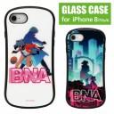 iPhone SE ケース 第2世代 SE2 iPhone8 iPhone7 BNA ビー・エヌ・エー ガラスケース 影森みち……