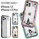 ディズニー プリンセス SHOWCASE+ iPhone 12 iPhone12 Pro 写真やメモが挟めるケース クリアカ……