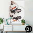 ポスター ウォールステッカー シール式ステッカー 飾り 728×1030mm B1 写真 フォト 壁 インテリア おしゃれ  剥がせる wall sticker p..