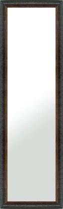 鏡 ミラー 壁掛け鏡 壁掛けミラー ウオールミラー:LZ5159 ブラック(フレームミラー 壁掛け 壁付け 姿見 姿見鏡 壁 おしゃれ エレガン..