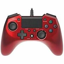 【送料無料】【中古】PS4 ホリパッド4 FPSプラス レッド ホリ コントローラー プレステ4