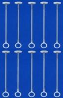 【送料無料】 ホスクリーン SPC型 室内物干し 薄型 標準タイプ部屋干しに最適! 薄くなって、目立ちにくくて新登場【10本セット】..