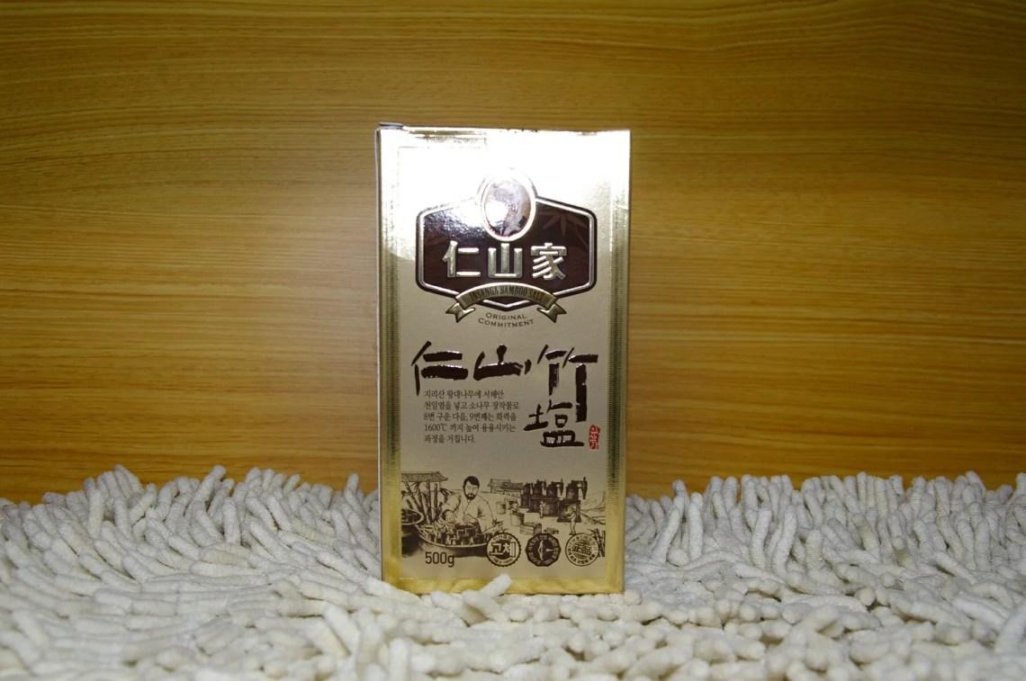 9回焼き仁山竹塩500g(個体)竹塩・健康塩 お試し/高品質