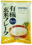 有機玄米フレーク・プレーン150g【ムソー】