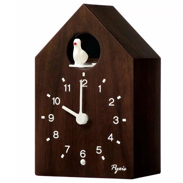 セイコー ピクシス クォーツ 壁掛け置き兼用時計 NA609B カッコー 鳩時計 報時 時報 アナロ