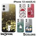 [ネコポス発送] ingrem iPhone 12 mini ムーミン ラメ グリッターケース イングレム (iPhone12……