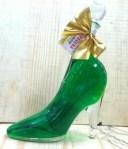 シンデレラのガラスの靴ボトルのお酒キウイ