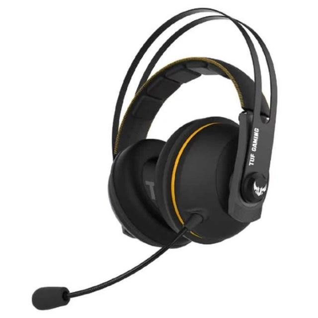 ゲーミングヘッドセット TUF GAMING H7 WIRELESS ワイヤレス 無線 PC、Mac、PlayStation4 用 イエロー エイスース ASUSTeK COMPUTER ASU-TUF/GAMING/H7/WIRELESS/Y