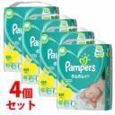 《ケース》 P&G パンパース さらさらケア テープ スーパージャンボ 新生児 5kgまで 男女共用 (90枚)×4個 ベビーおむつ テー..