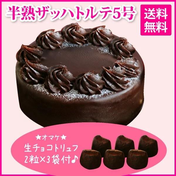 【おまけつき】半熟ザッハトルテ(おのし・包装・ラッピング不可)【チョコレートケーキ】【送料無料】