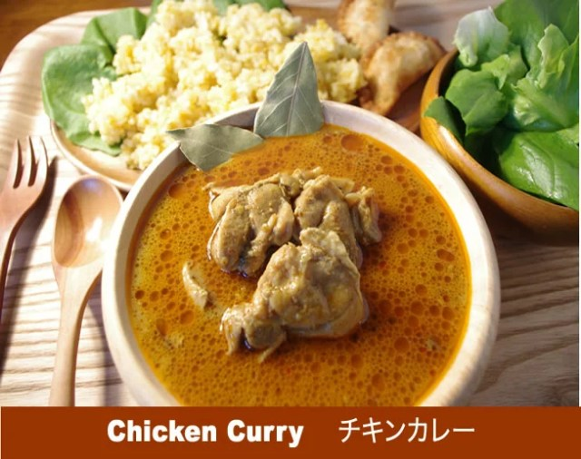 辛くないチキンカレー3食セットLalaカレー本格スリランカカレー完全手作りスープカレー化学調味料不使