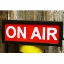 サインランプ オンエア ON AIR ライト スタジオ ガレージ アメリカ雑貨 オンエア 西海岸風 インテリア アメリカン雑貨