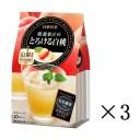 【セット買い】【まとめ買い】【日東紅茶】 厳選果汁のとろける桃 10P×3個