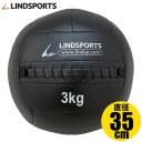ソフト メディシンボール 3kg やわらか トレーニングボール ウエイトボール LINDSPORTS リンドスポーツ