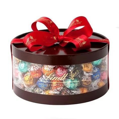 リンツ Lindt チョコレート リンドール ギフト ボックス 11種 100個入り | ギフト 洋