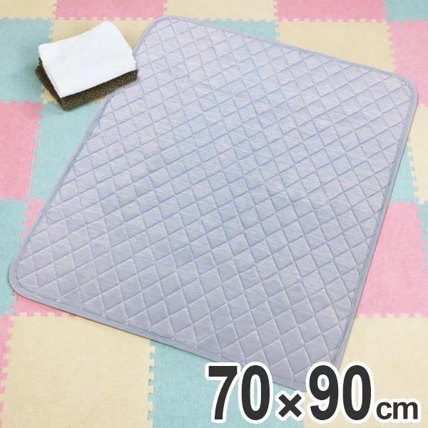 敷きパッド 70×90cm 冷感 マット サラッと涼感ゆあがりマット ( 冷感敷きパッド 接触冷感