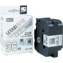 MAX ラベルプリンタ ビーポップミニ用 36ミリ幅テープ [LM-H536BW] LMH536BW 販売単位:1 運賃別途