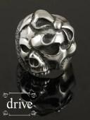 drive[ゴスロリ](シルバーアクセサリー/シルバー925/Silver925/ゴシック/攻撃/攻撃的ゴシック/ドライブ/ドライヴ/リング/指輪/メンズ/..