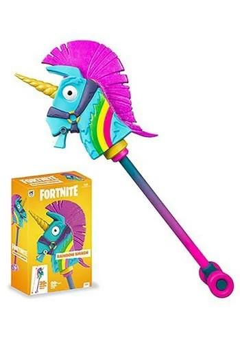 Fortnite Rainbow Smash Premium Prop Replica Pickaxe ハロウィン コスプレ 衣装 仮装 小道具 おもしろい イベント パーティ ハロウィーン 学芸会