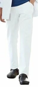 KAZEN(カゼン) メンズパンツ CIS850-20(ホワイト)) 5L