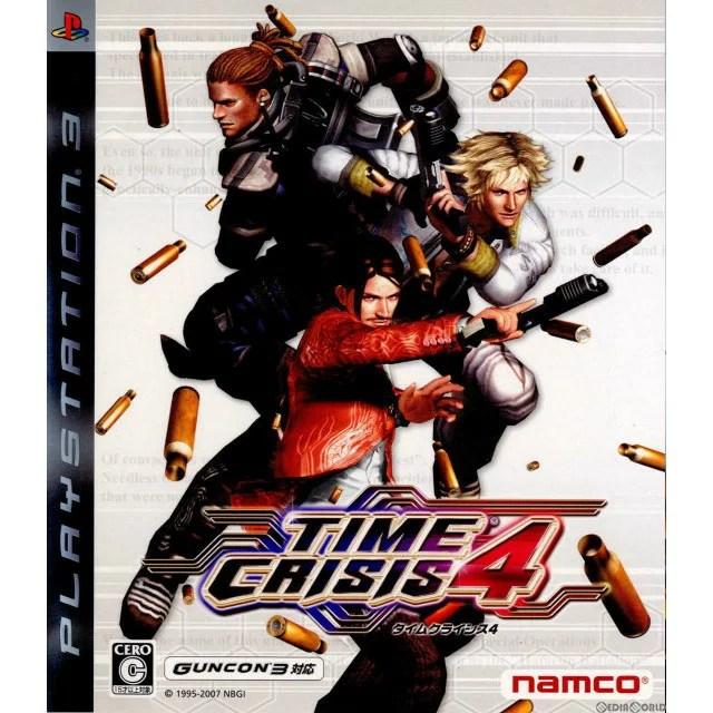 【中古】[PS3]タイムクライシス4(TIME CRISIS4)(ソフト単品)(20071220)