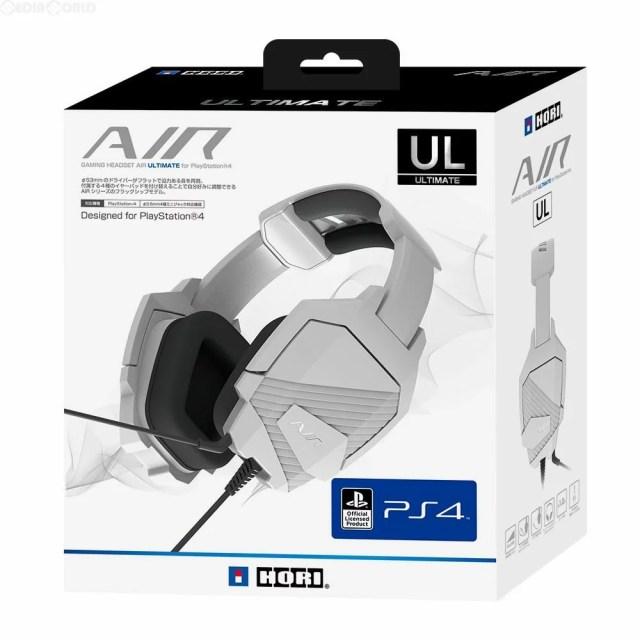 【新品】【お取り寄せ】[ACC][PS4]ゲーミングヘッドセット AIR ULTIMATE(アルティメット) for PlayStation4 HORI(PS4-074)(20161006)