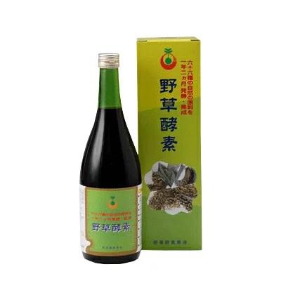 【ポイント7倍】66品目の栄養素がたっぷり 野草酵素 (720ml)