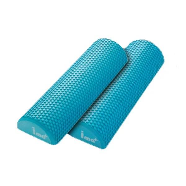 [ストレッチ2分割ポール]健康 室内 運動器具 体幹トレーニング ストレッチポール 半円 ハーフ ヨ