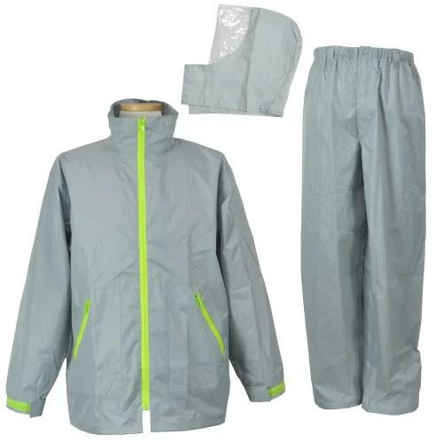 【お買得 かっぱ】 [コヤナギ] 防水 レインウェア レインコート 合羽 雨衣 《二重袖&袖口調節》