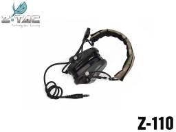 【ピークカット機能&サラウンド機能搭載】Z-TACTICAL Hi-Threat Tier1ヘッドセット◆最新の第3世代改良モデル/サバゲ&コスプレに