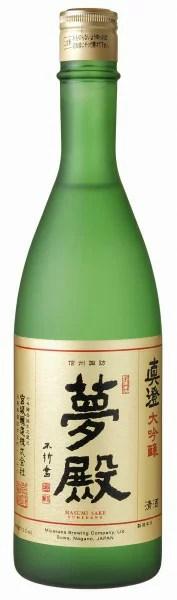 【宮坂醸造・真澄】大吟醸「夢殿」(720ml/箱無し)包装・のし紙対応不可