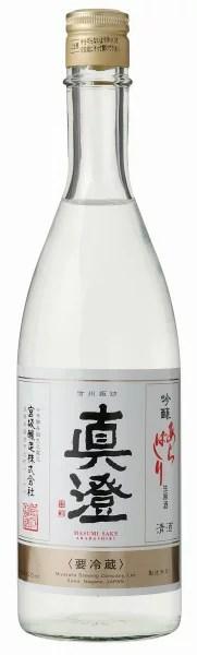 宮坂醸造・真澄「しぼりたて生原酒・純米あらばしり」720ml