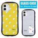 ポケットモンスター ハイブリッドガラスケース iPhone 12 mini ガラスケース スマホケース ポ……