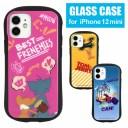 トムアンドジェリー ハイブリッドケース iPhone 12 mini ガラスケース iPhone 12mini スマホケ……
