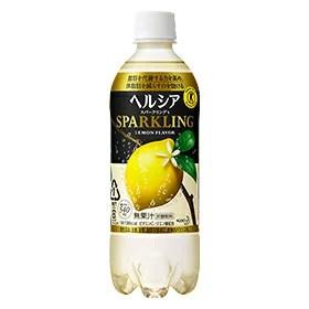 【送料無料】花王 ヘルシアスパークリングレモン 500ml×24本×2箱【2CS】【smtb-TD】