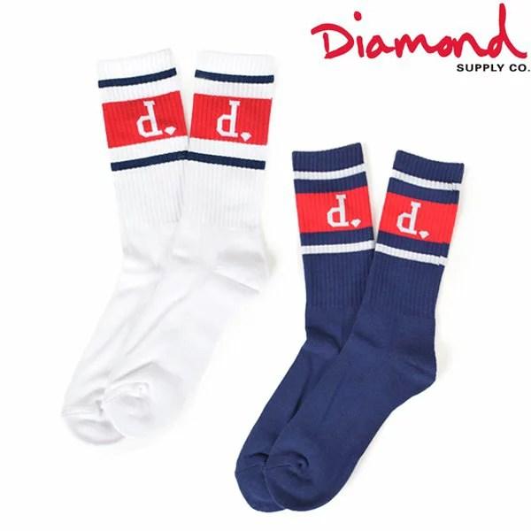 ソックス Diamond Supply