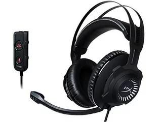 キングストンテクノロジー ゲーミングヘッドセット HyperX Cloud Revolver S HX-HSCRS-GM/AS ガンメタル