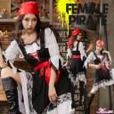 ハロウィン コスプレ 女海賊 パイレーツ コスチューム 衣装 ハロウィン衣装 レディース マリン 水平 可愛い ハロウィンコスプレ ハロウィン仮装 おすすめ エロい服 コスプレランジェリー