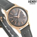 【エントリーでさらにポイント+4倍!26日1時59分まで】 ヘンリーロンドン HENRY LONDON 25mm レディース 腕時計 HL25-S-0194 フィンチ..