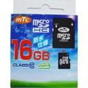 ☆mtc microSDHCカード 16GB class10 (PK) MT-MSD16GC10W (UHS-1対応)