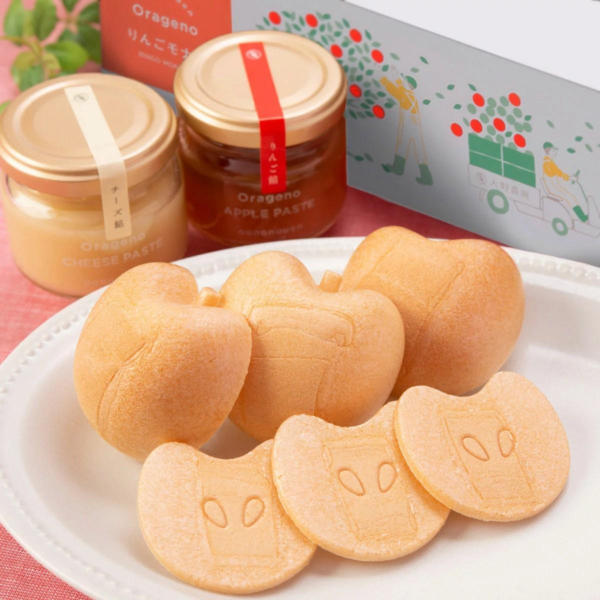 APPLE MONAKA BOX 2個 詰合せ 最中 和菓子 もなか りんご餡 りんご 果肉 チーズ